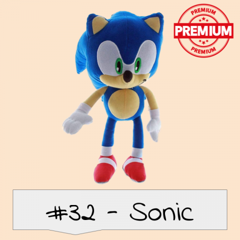 Sonic The Hedgehog Puppet