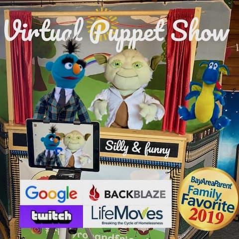 Magic Puppet Shows Nj Virtual Zoom